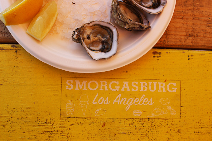 The Jolly Oyster, Smorgasburg Los Angeles