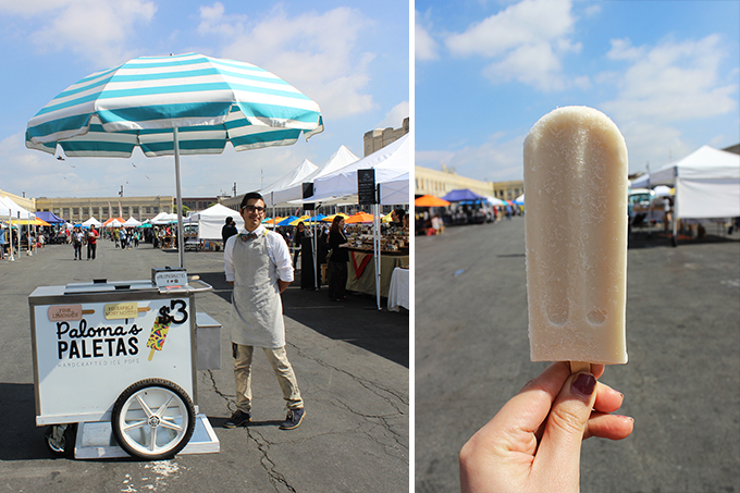 Paloma's Paletas at Smorgasburg Los Angeles
