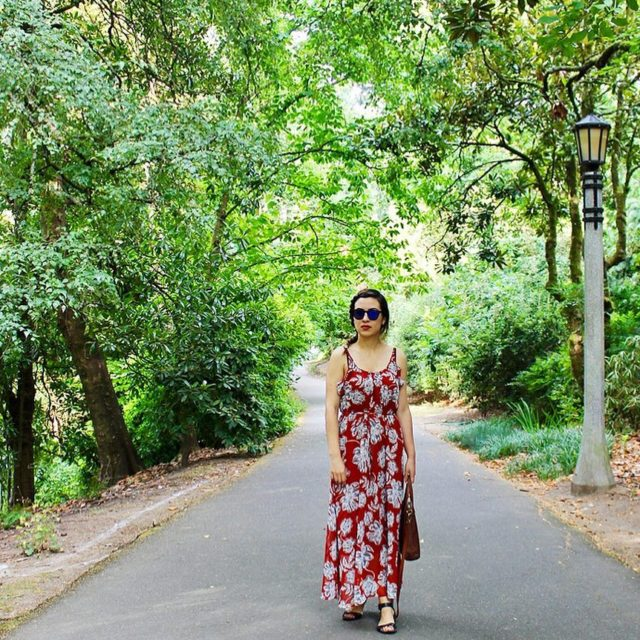 Im wearing this floral midi dress from the whowhatwearcollection onhellip